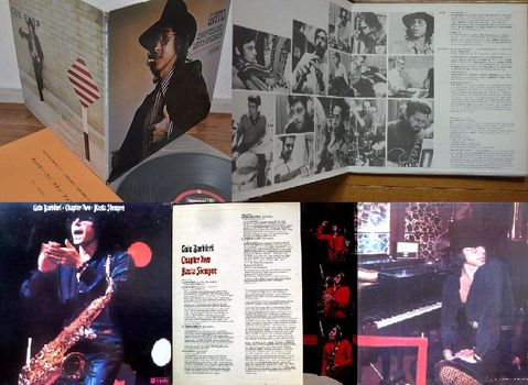 Gato Barbieri: Chapter One & Two (gatefold Impulse LPs)