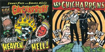 Los Chicharrons' first two albums (2x2LP)